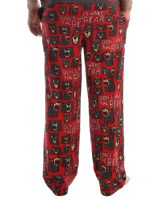 Men's Don't Wake The Bear PJ Trousers - Lazy One®  | Bear Pyjama Bottoms